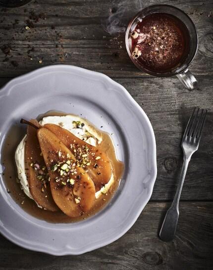 recette-poires-thé-bergamote-chêne-épicerie-suédoise-IKEA