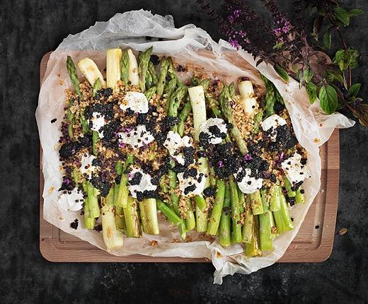 recette-salade-asperges-perles-algues-épicerie-suédoise-IKEA