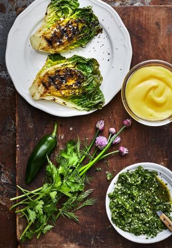 recette-salade-little-gem-mayonnaise-huile-colza-chimicurri-épicerie-suédoise-IKEA