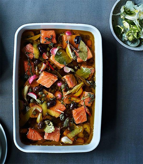 recette-saumon-confit-fenouil-aioli