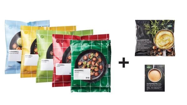 recettes IKEA avec les produits de l'épicerie suédoise