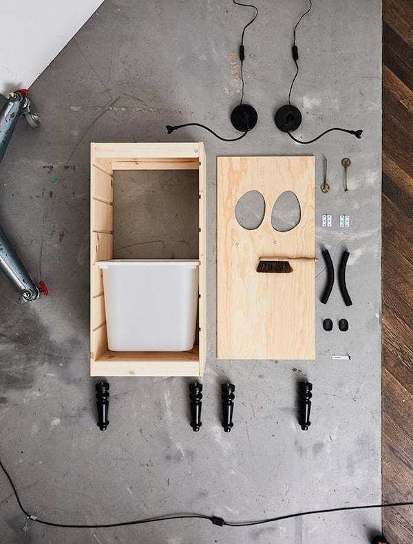 recyclen-DIY-station-duurzaam-familie-IKEA wooninspiratie