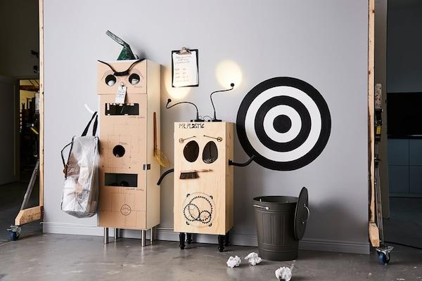 recyclestation-zelf-maken-robot-duurzaam-familie-IKEA wooninspiratie