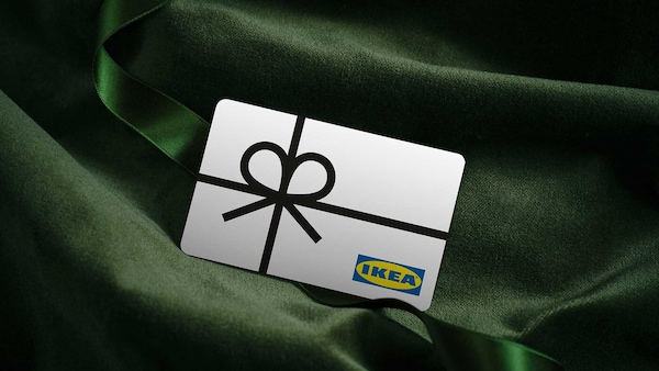 Redeem a gift card: from the comfort of your sofa