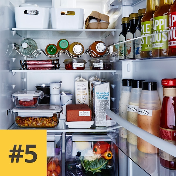 Réfrigérateur ouvert