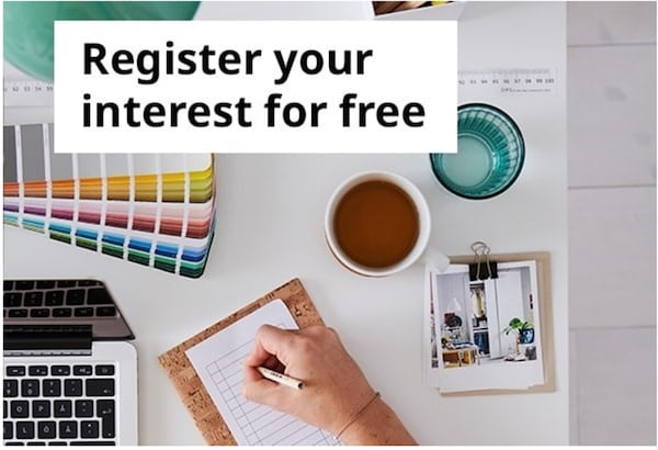 register your inrerest for free