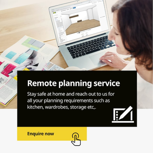 Remote home planning & interior design services
