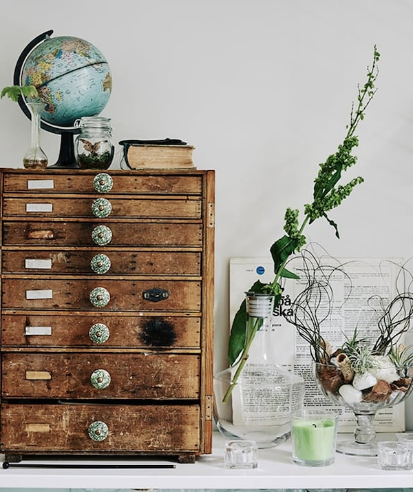 Rental house decorating  - IKEA inspiration