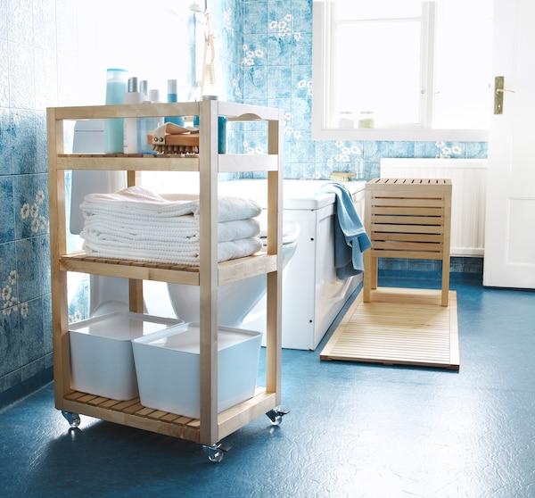 Renueva tu baño sin necesidad de obras con un carrito de baño