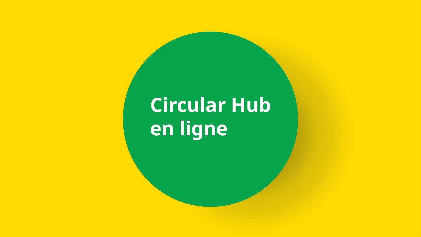 Réservation des produits du Circular Hub