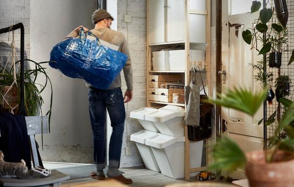 Решения для раздельного сбора мусора дома