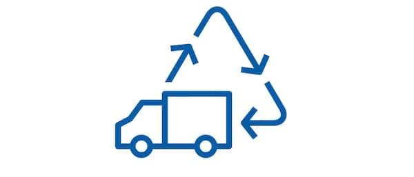 Retour- en recycleservice