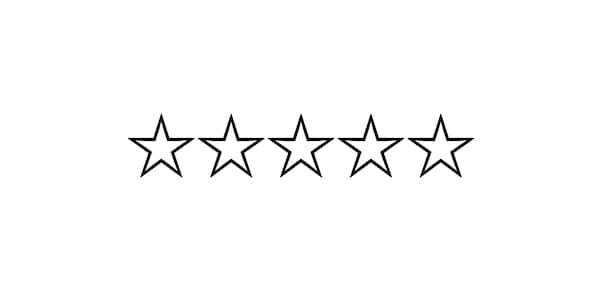 Review icon _ star