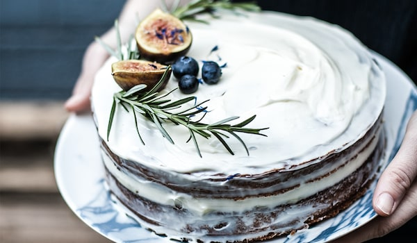Rezept Schwedische Heidelbeertorte (Blåbärtårta)