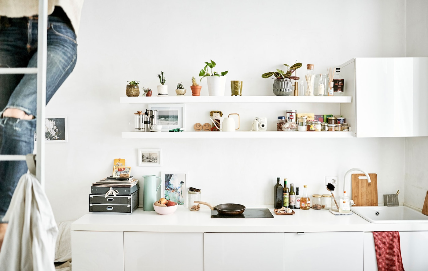 Visita a un hogar: consejos para espacios pequeños - IKEA