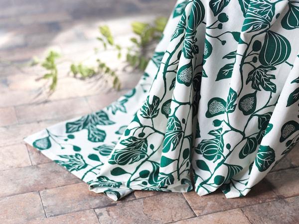 rideaux-fleuris-vert-motif-figuier-ALPKLÖVER