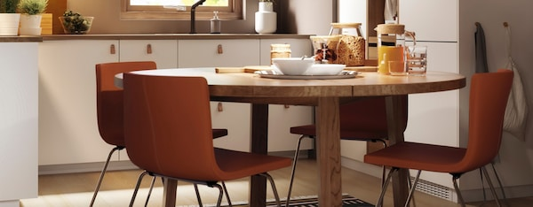 Verwonderlijk Ronde eettafels - IKEA DH-43