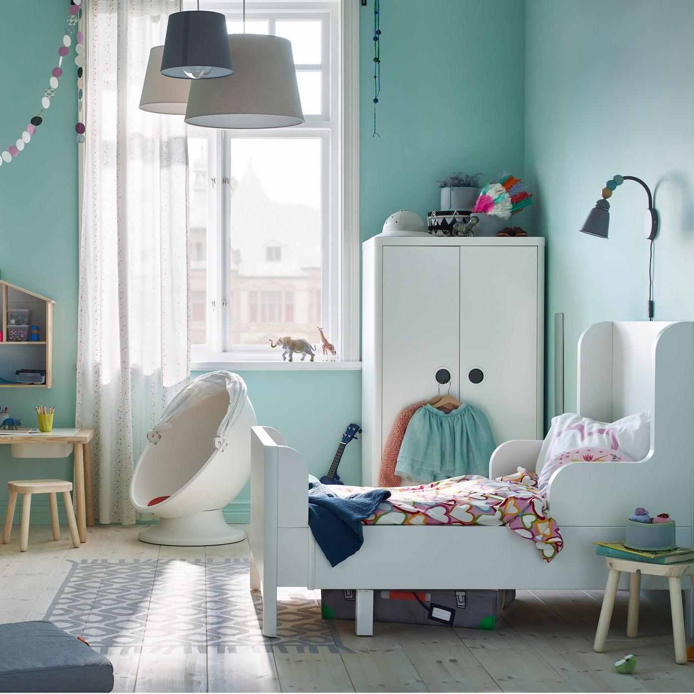 Habitacion Bebe Niña Ikea | Habitacion Gris Y Rosa Cuarto De Niña En ...