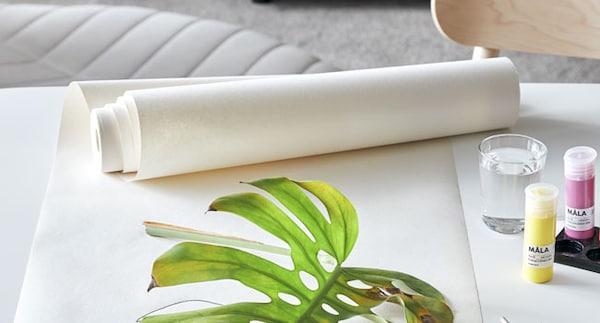 Rouleau de papier dessin