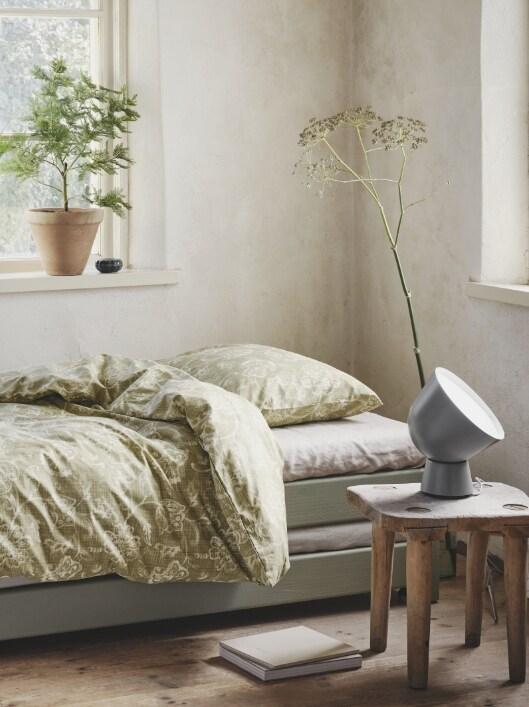 Roupa de cama e almofadas