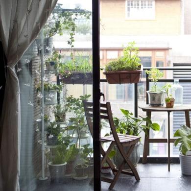 Saca el maximo partido a tu balcón