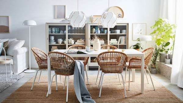 Tavolo Soggiorno Ikea.Arredamento Per La Sala Da Pranzo Ikea