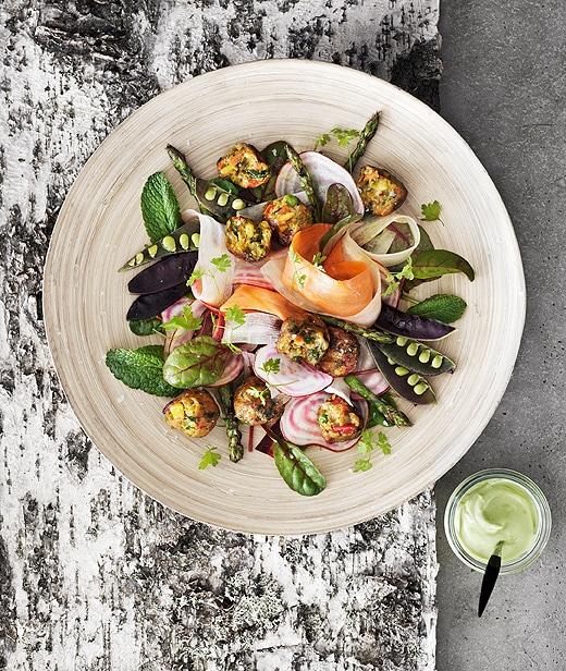 Salade-été-boulettes-végétariennes-épicerie-IKEA