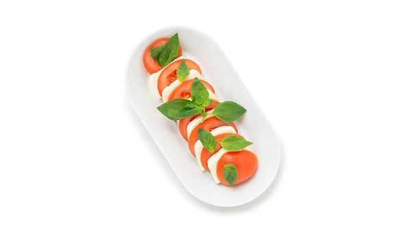 Salade tomate-mozarella