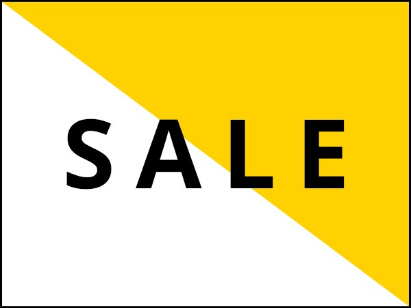 SALE. Up to 50% off select items.
