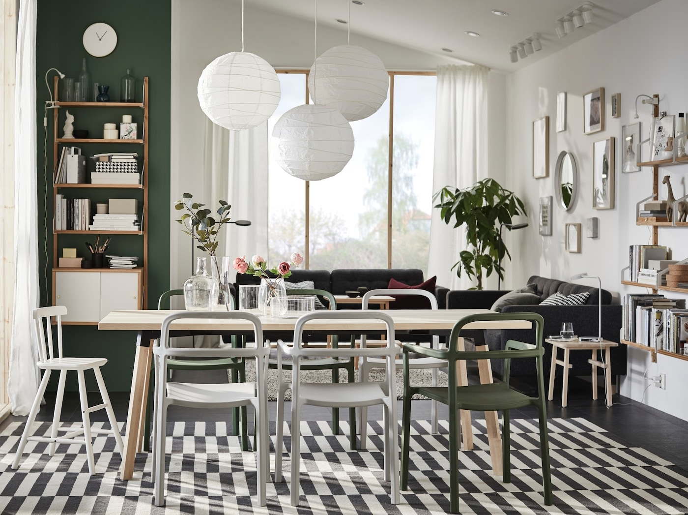 Table A Manger Ikea En Bois une salle à manger naturellement scandinave - ikea