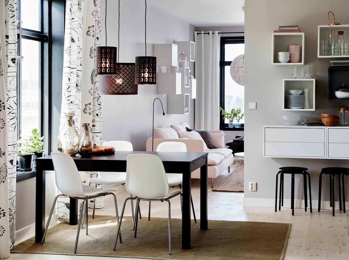 petit d jeuner pour quatre d ner pour six ikea. Black Bedroom Furniture Sets. Home Design Ideas