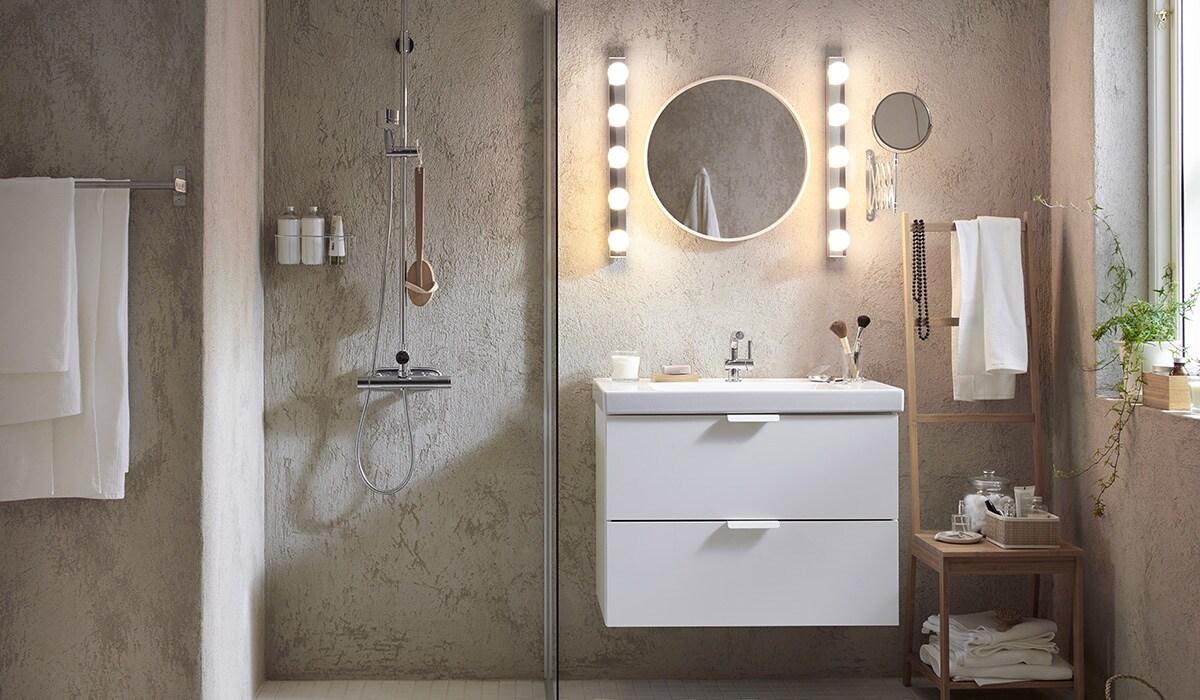 Inspiration pour l\'aménagement de ta salle de bains - IKEA