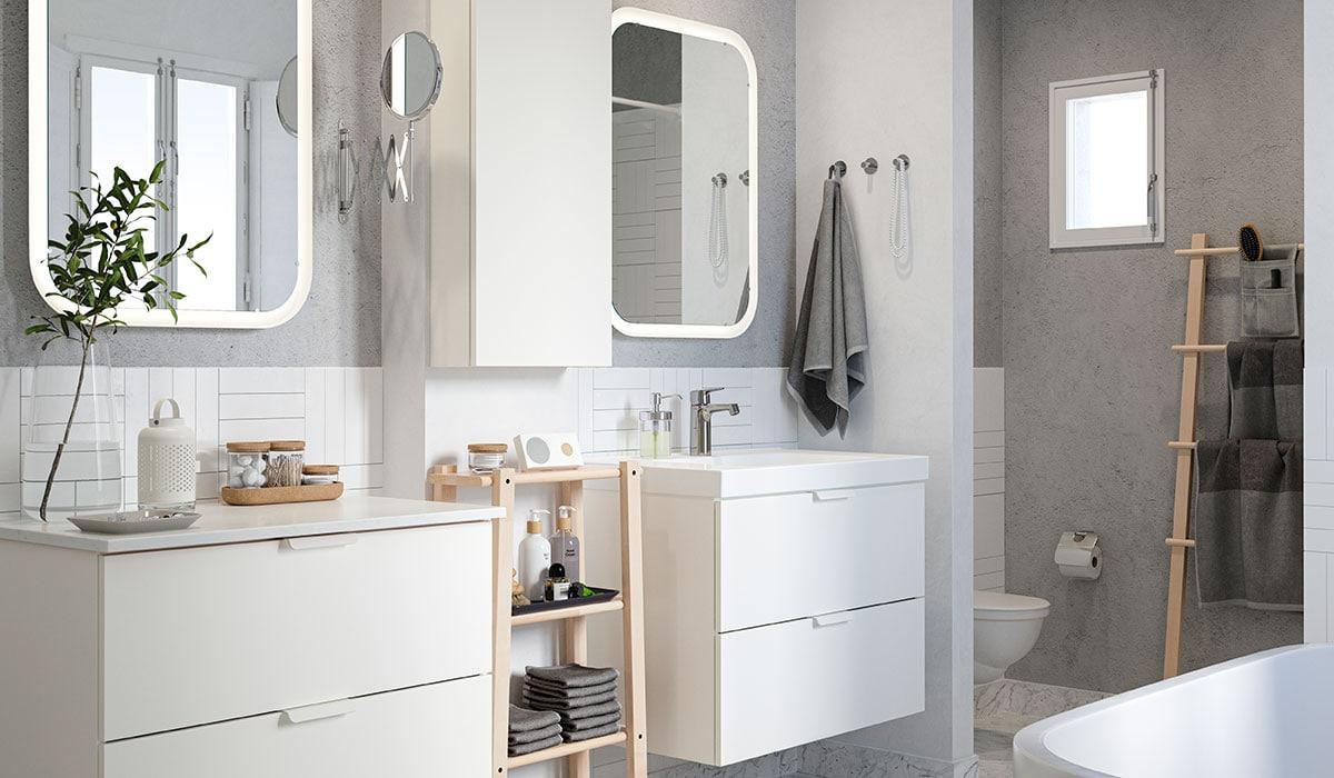 Creer Rangement Salle De Bain inspiration pour l'aménagement de ta salle de bains - ikea