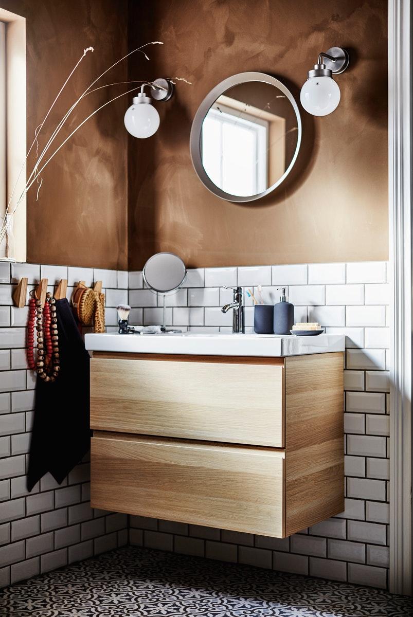 salle-de-bain-marron-meuble-lavabo