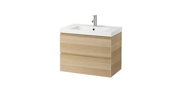Merveilleux Salle De Bain : Meuble Pour Lavabo IKEA
