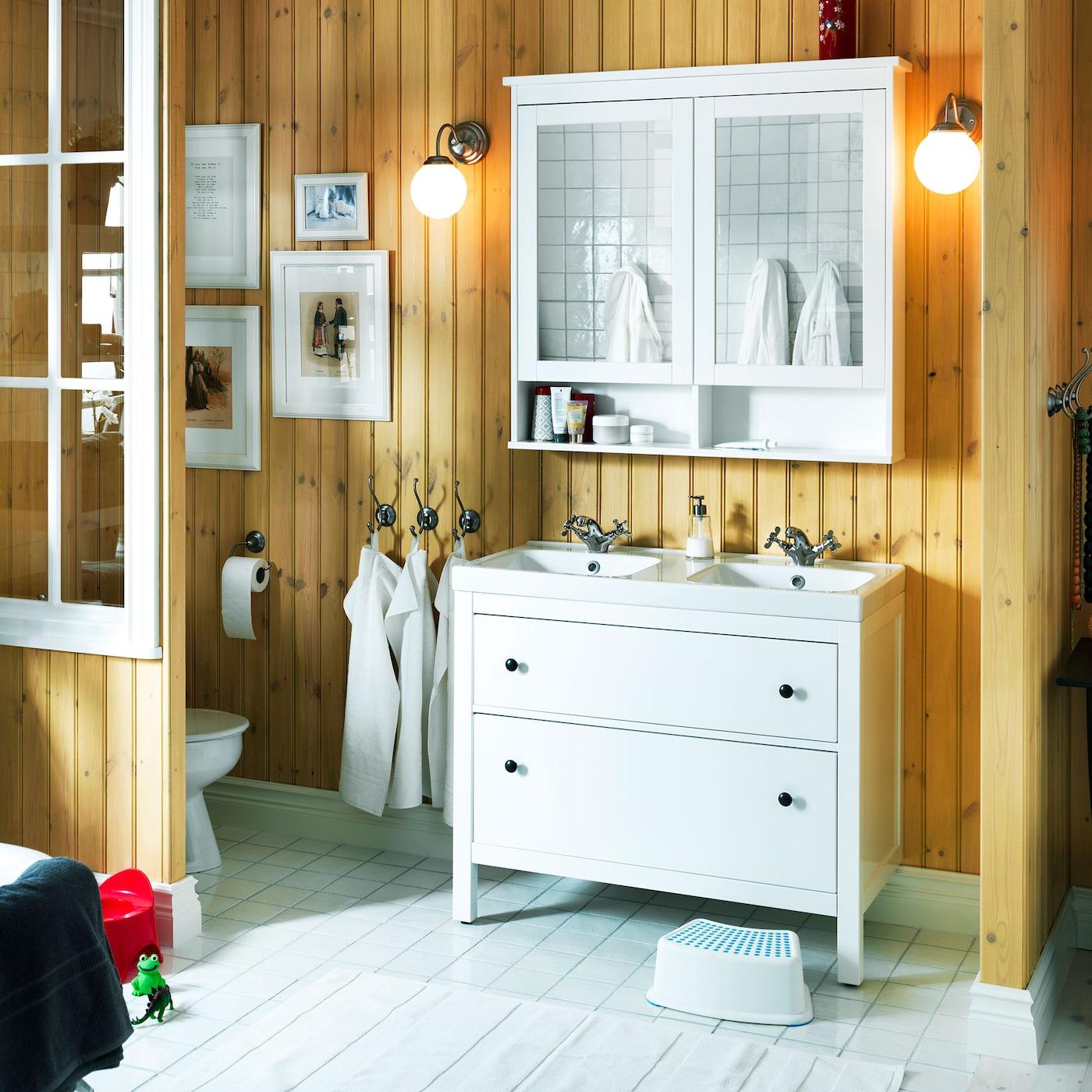 Agreable Salle De Bain : Serie HEMNES IKEA