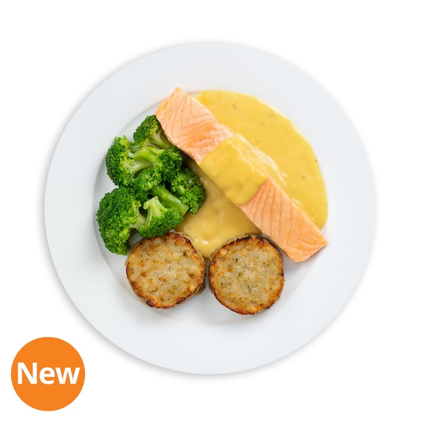 Salmon Fillet with Medallion & Lemon Butter Sauce