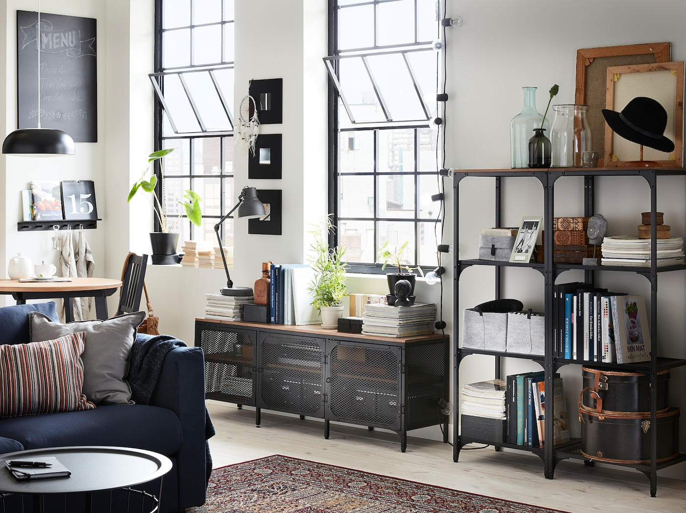 Commode Chambre Style Industriel style industriel brut et chaleureux à la fois - ikea