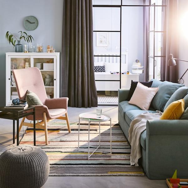 Salón flexible para toda la familia