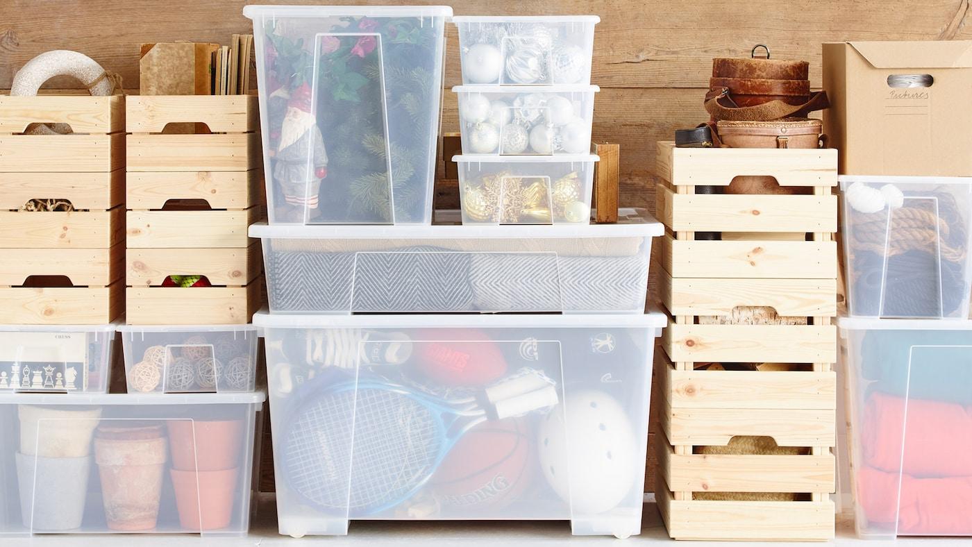 SAMLA box 28x19x14 cm/5 l transparent