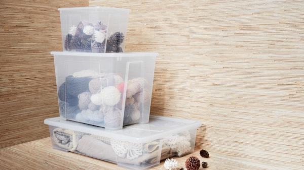 SAMLA boxes