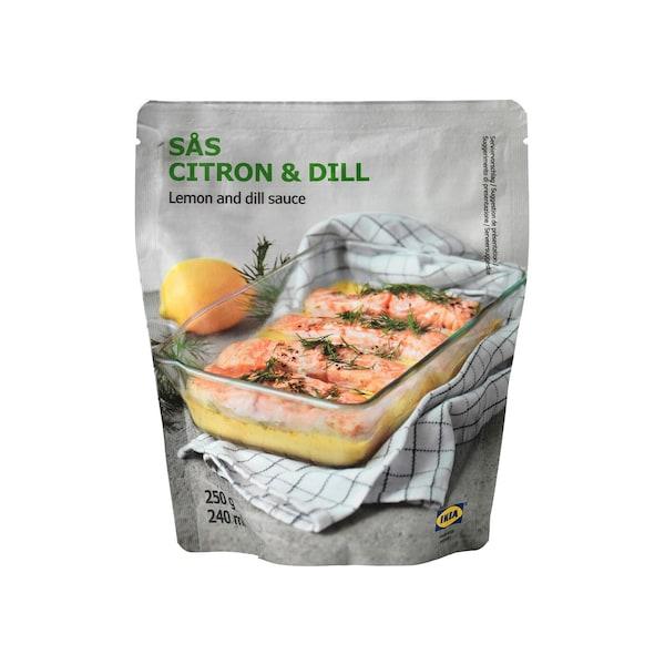 SÅS CITRON & DILL Lemon and dill sauce