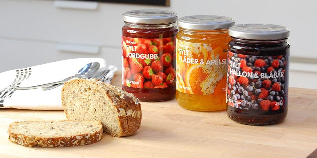 Sauces jam & condiments