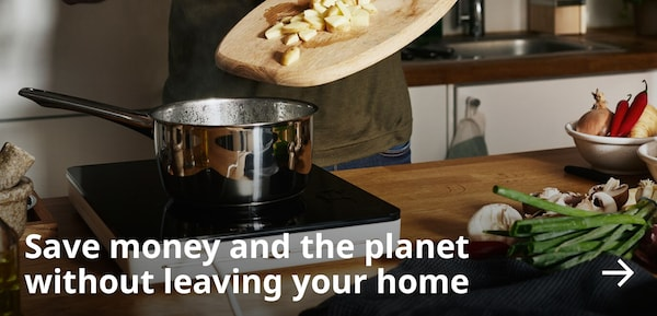 Save money and the planet without leaving your home.