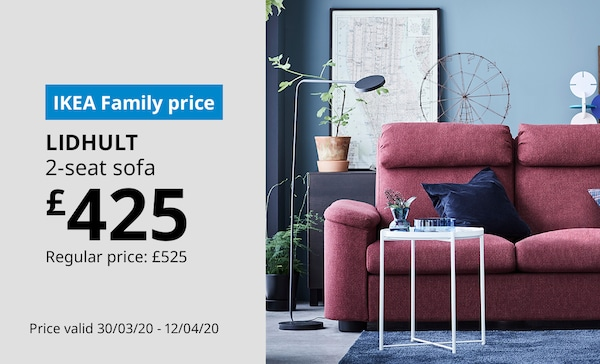 Save on LIDHULT 2-seat sofa