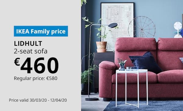 Save on LIDHULT 2-seat sofa