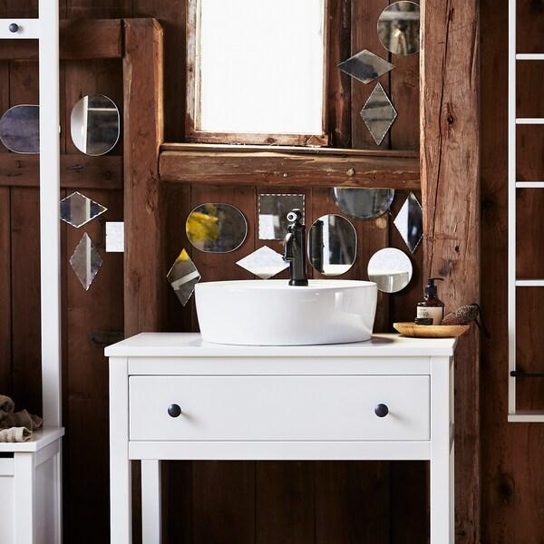 Savjet za kupaonicu i namještanje malih prostora.