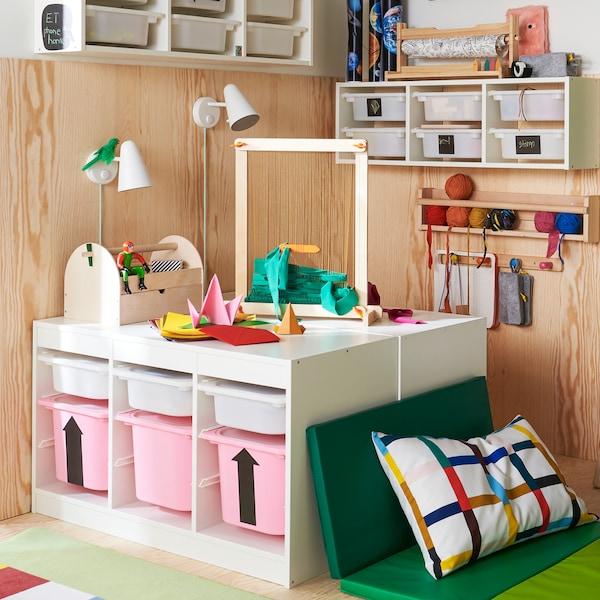 Savjeti za odlaganje dječjih stvari koje će djeca sama rado koristiti.