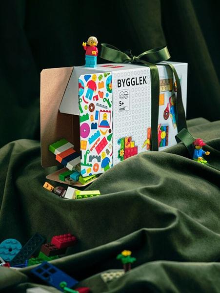 Scatola gioco BYGGEL - IKEA