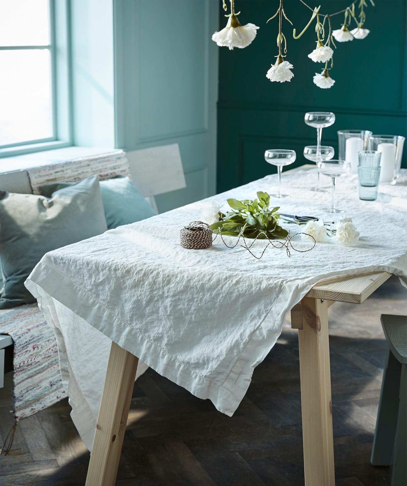 Create a sage green summer table – IKEA IKEA IT